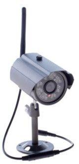 Protel Zewnętrzna, bezprzewodowa kamera HD IP 66 (SET1ch_KAM1)