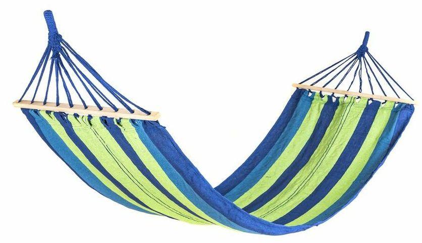 Happy Green Wiszący leżak-bujak 200 x 80 cm, niebieski