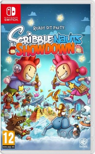 Scribblenauts Showdown NS