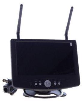 """Protel Odbiornik, rejestrator HD do kamer bezprzewodowych z wyświetlaczem LCD 7"""", zdalny dostęp (RECEIVER_LAN1)"""