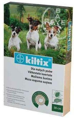 BAYER Kiltix obroża dla psów małych 38 cm