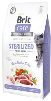 BRIT CARE cat STERILISED weight control