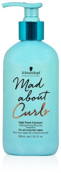Schwarzkopf Mad About Curls High Foam Cleanser Szampon do włosów kręconych 300 ml
