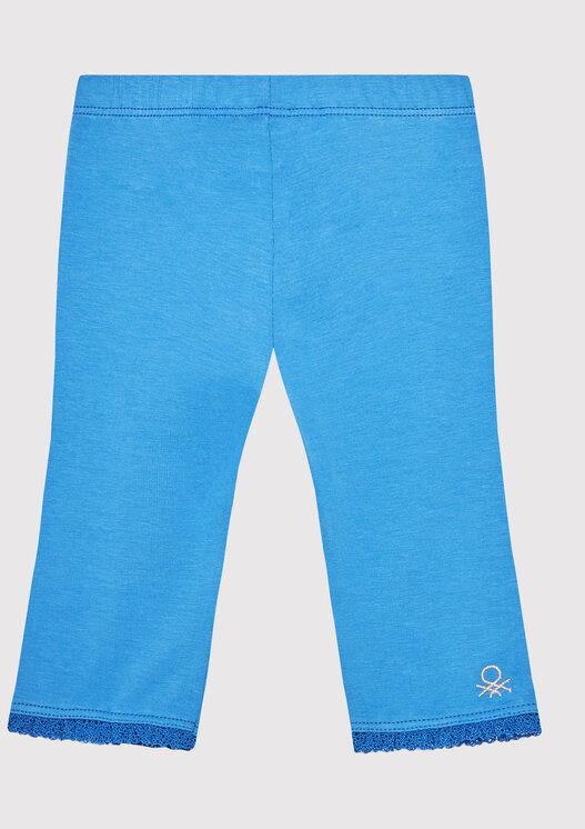 Legginsy 3MT1I0820 Niebieski Slim Fit