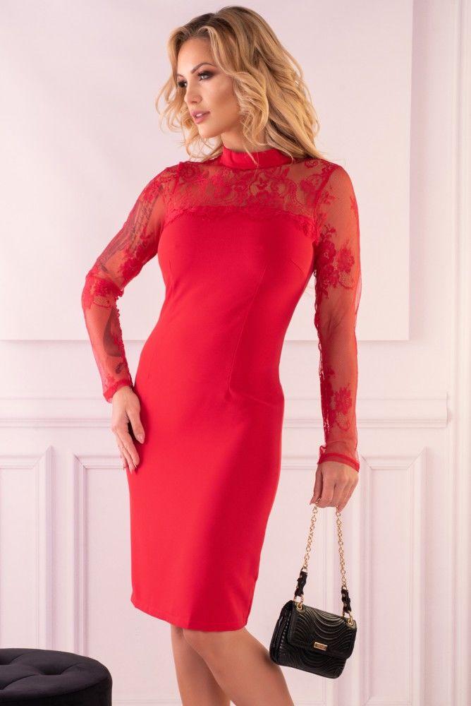 Astrai Red 85602 sukienka