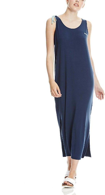 sukienka BENCH - Twisted Dress Blues (BL056) rozmiar: L