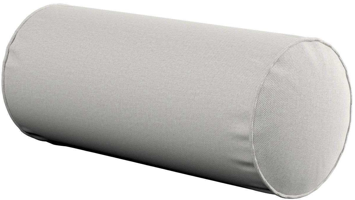 Poduszka wałek prosty, jasny popiel, Ø16  40 cm, Etna