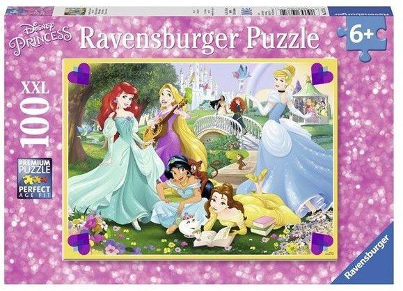 Ravensburger - Puzzle Romarzone księżniczki 100 elem. 107759