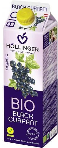 Nektar z czarnej porzeczki BIO 1l Hollinger