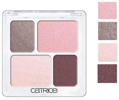 Catrice Cosmetics Absolute Eye Colour Quattro Poczwórne Cienie do powiek 100 F''rosen Yoghurt - 2,5g Do każdego zamówienia upominek gratis.