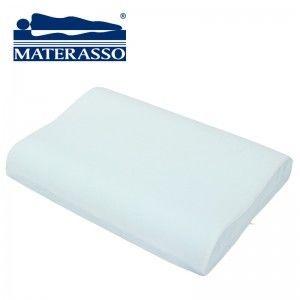 Poduszka PARIS VISCOGREEN MATERASSO termoelastyczna, Rozmiar: 60x43 Darmowa dostawa, Wiele produktów dostępnych od ręki!