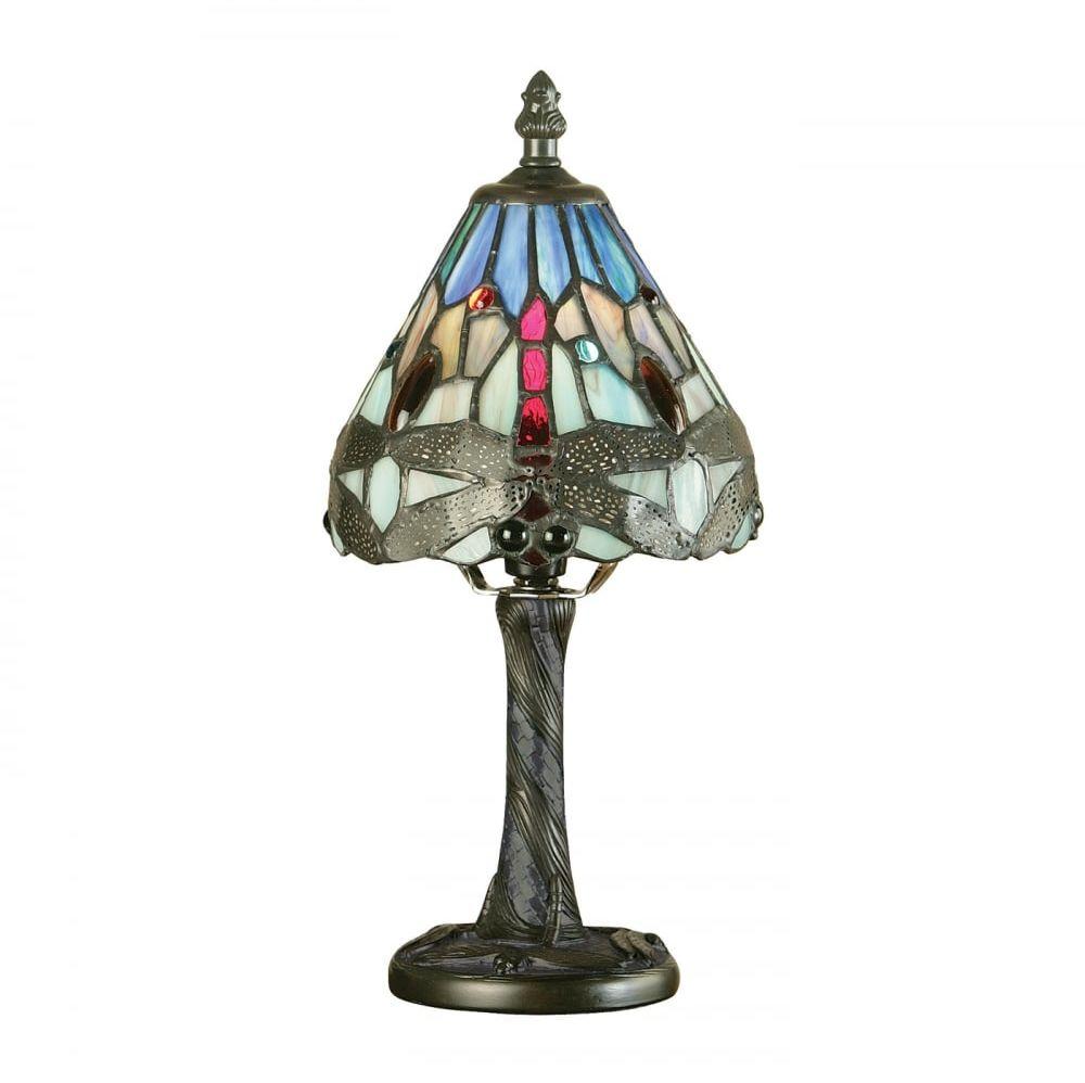 Lampa stołowa TIFFANY DRAGONFLY - 64098 - INTERIORS 1900  Skorzystaj z kuponu -10% -KOD: OKAZJA