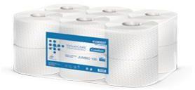 Papier toaletowy jumbo Velvet, 100% celuloza , 2-warstwowy, 12 rolek
