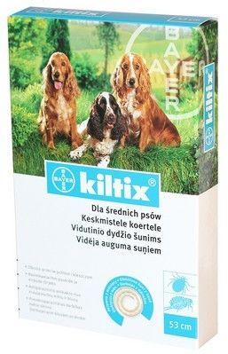 BAYER Kiltix obroża dla psów średnich dł.53 cm