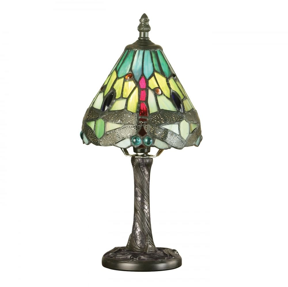 Lampa stołowa TIFFANY DRAGONFLY - 64099 - INTERIORS 1900  Skorzystaj z kuponu -10% -KOD: OKAZJA