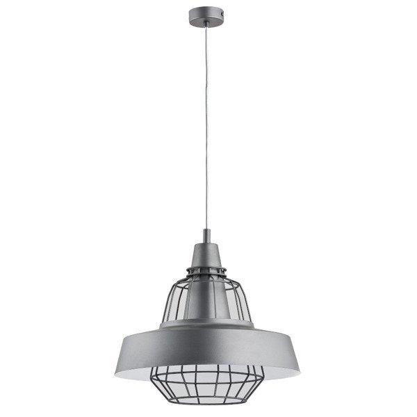 Nowoczesna lampa TAMARIS szara śr. 40cm