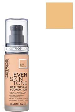 Catrice Cosmetics Even Skin Tone Trwały i pielęgnacyjny podkład do twarzy 030 Even Sand - 30ml Do każdego zamówienia upominek gratis.