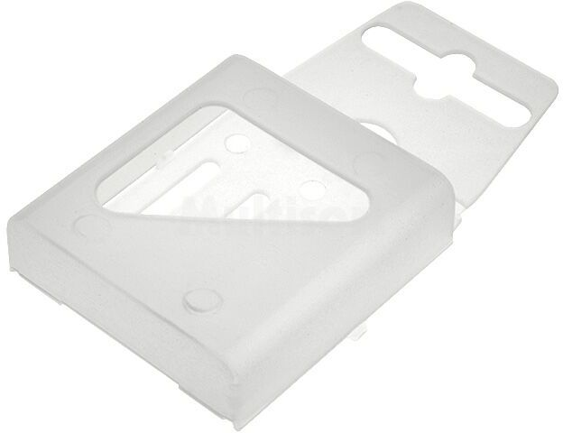 Pojemnik na akumulatorki R03 (AAA) przezroczysty