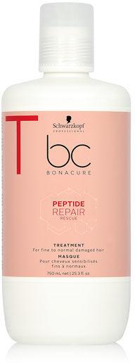 Schwarzkopf BC Peptide Repair Rescue Maska regenerująca do włosów cienkich i normalnych 750 ml
