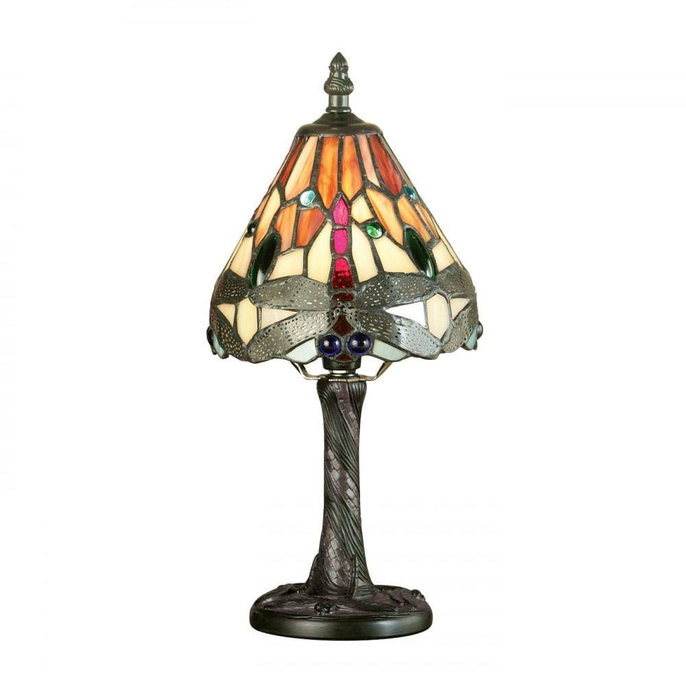 Lampa stołowa TIFFANY DRAGONFLY - 64100 - INTERIORS 1900  Skorzystaj z kuponu -10% -KOD: OKAZJA