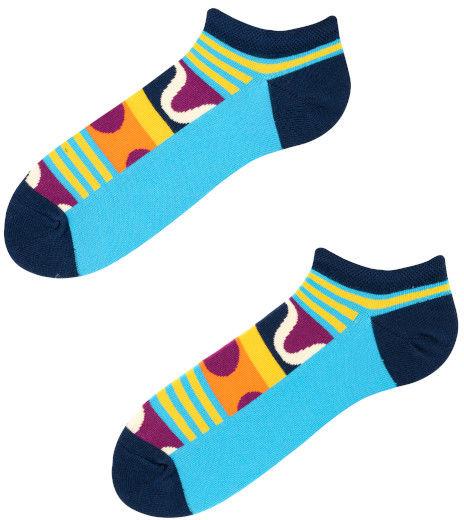 Stopki, Lollipop Low, Todo Socks, Etniczne, Wzory, Kolorowe
