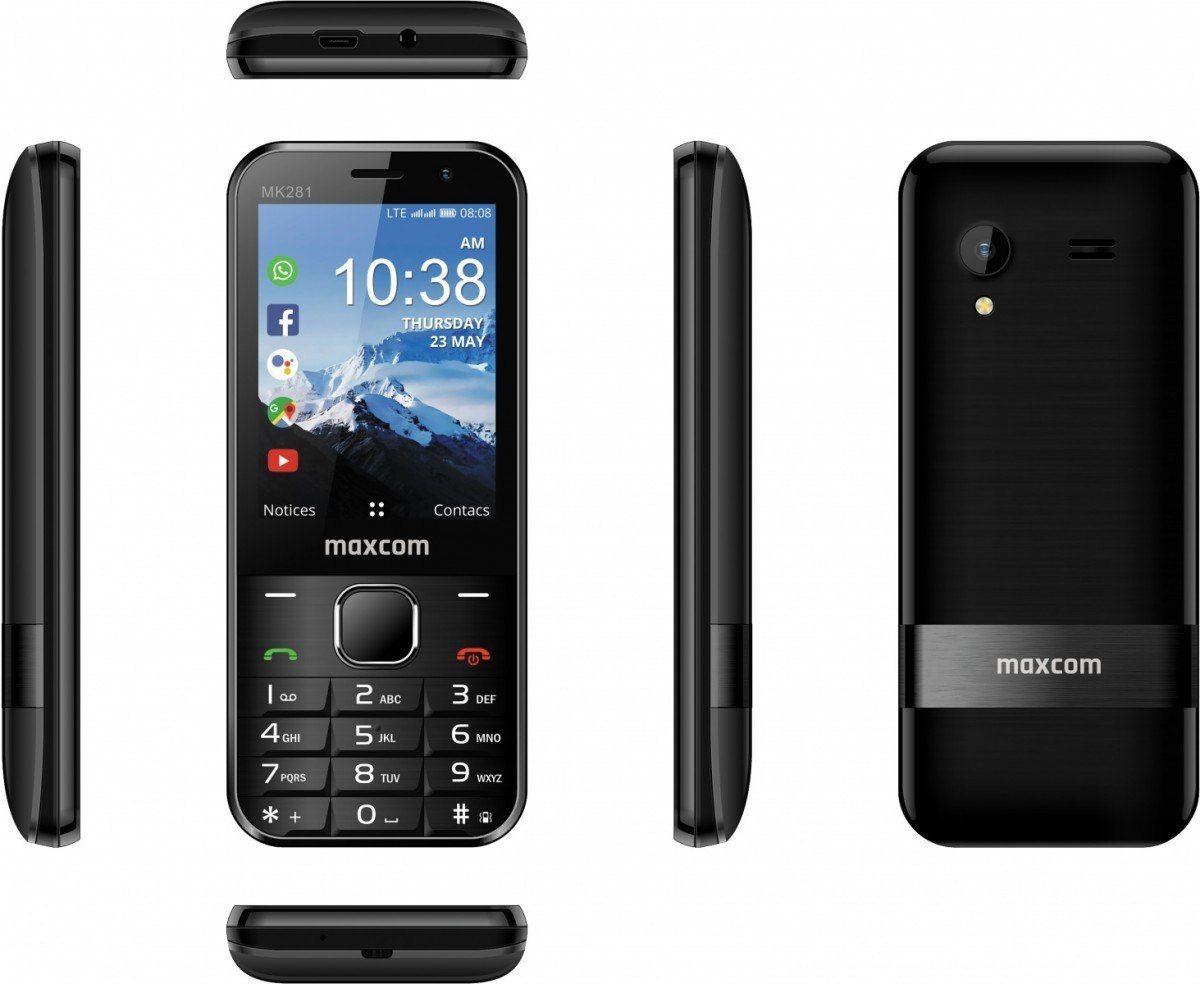 Maxcom Telefon MK 281 Kaios System 4G VoLTE