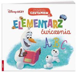Disney uczy Przygoda z czytaniem Elementarz ZAKŁADKA DO KSIĄŻEK GRATIS DO KAŻDEGO ZAMÓWIENIA