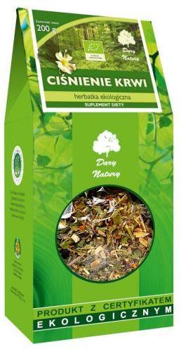 Herbatka CIŚNIENIE KRWI BIO 200 g Dary Natury