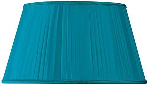 Klosz lampy w formie plisowanej, pół Empire Ø 30 x 21 x 17 (ręcznie złożony) turkusowy