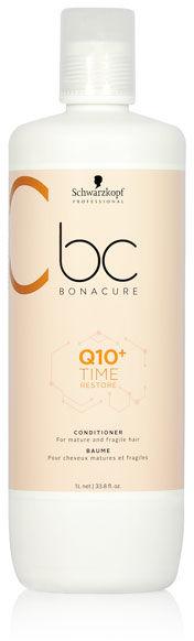 Schwarzkopf BC Q10+ Time Restore Odżywka do włosów dojrzałych i delikatnych 1000 ml