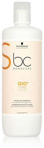 Schwarzkopf BC Q10+ Time Restore Szampon do włosów dojrzałych i delikatnych 1000 ml