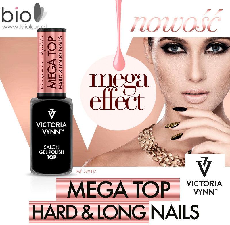 NOWA FORMUŁA MEGA TOP Hard & Long Nails Victoria Vynn 8 ml