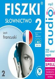 FISZKI audio j. francuski Słownictwo 2 - Audiobook.