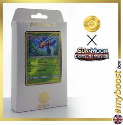 Torba na przygodę 228/214 błyszczący Traner - #myboost X Sun & Moon 8 Lost Thunder - pudełko 10 angielskich kart pokemon