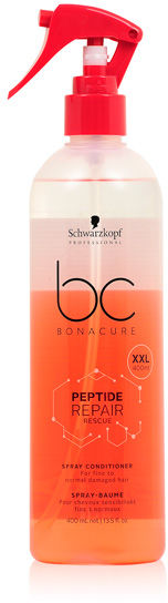 Schwarzkopf BC Peptide Repair Rescue Spray Odżywka dwufazowa w sprayu do włosów zniszczonych 400 ml