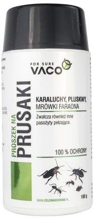VACO Proszek na pająki , pluskwy, prusaki, karaluchy i inne owady biegające 100g DV48