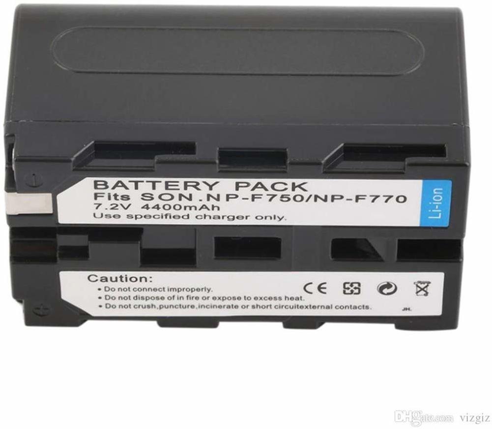 Cyfrowy zamiennik aparatu i baterii kamery do Sony NP-F750, NP-F730, NP-F770