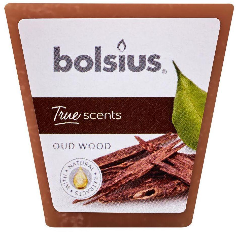 Świeca zapachowa True Scents drzewo agarowe Bolsius