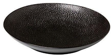 Talerz głęboki 210 mm czarny Honey Comb Q Authentic 21386