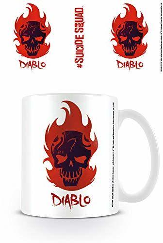 DC Comics Ceramiczny kubek z napisem ''Diablo Skull'' ''Suicide Squad''
