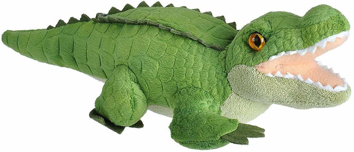 Wild Republic 23322 Plusz aligator, Wild Calls miękkie zabawki z oryginalnym dźwiękiem, prezenty dla dzieci, 20 cm, wiele