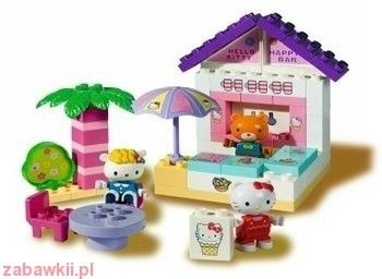 Hello Kitty - bar z ogródkiem, klocki 7029
