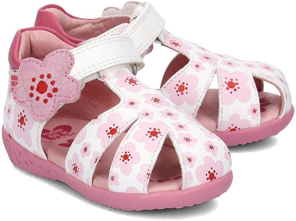 Agatha - Sandały Dziecięce - 182904 B-BLANCO - Biały