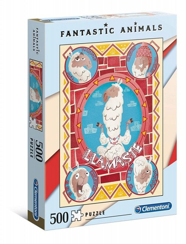 Puzzle 500 elementów Fantastic Animals - Llamaste