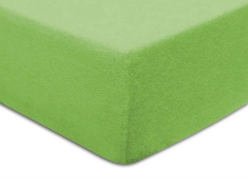 Prześcieradło Frotte Z Gumką 90x200 Zielone Darymex