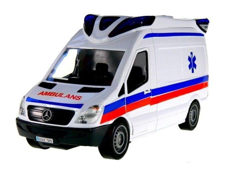 Dickie Karetka Ambulans SOS Światło Dźwięk