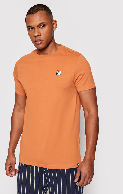 Fila T-Shirt Samuru 688567 Brązowy Regular Fit