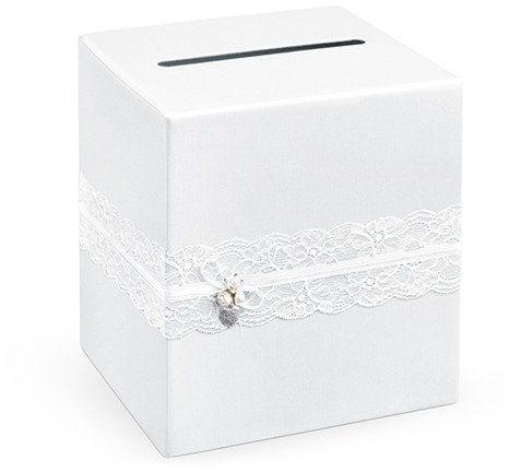 Pudełko weselne na koperty z życzeniami, prezentami 24x24x24cm PUDTM1