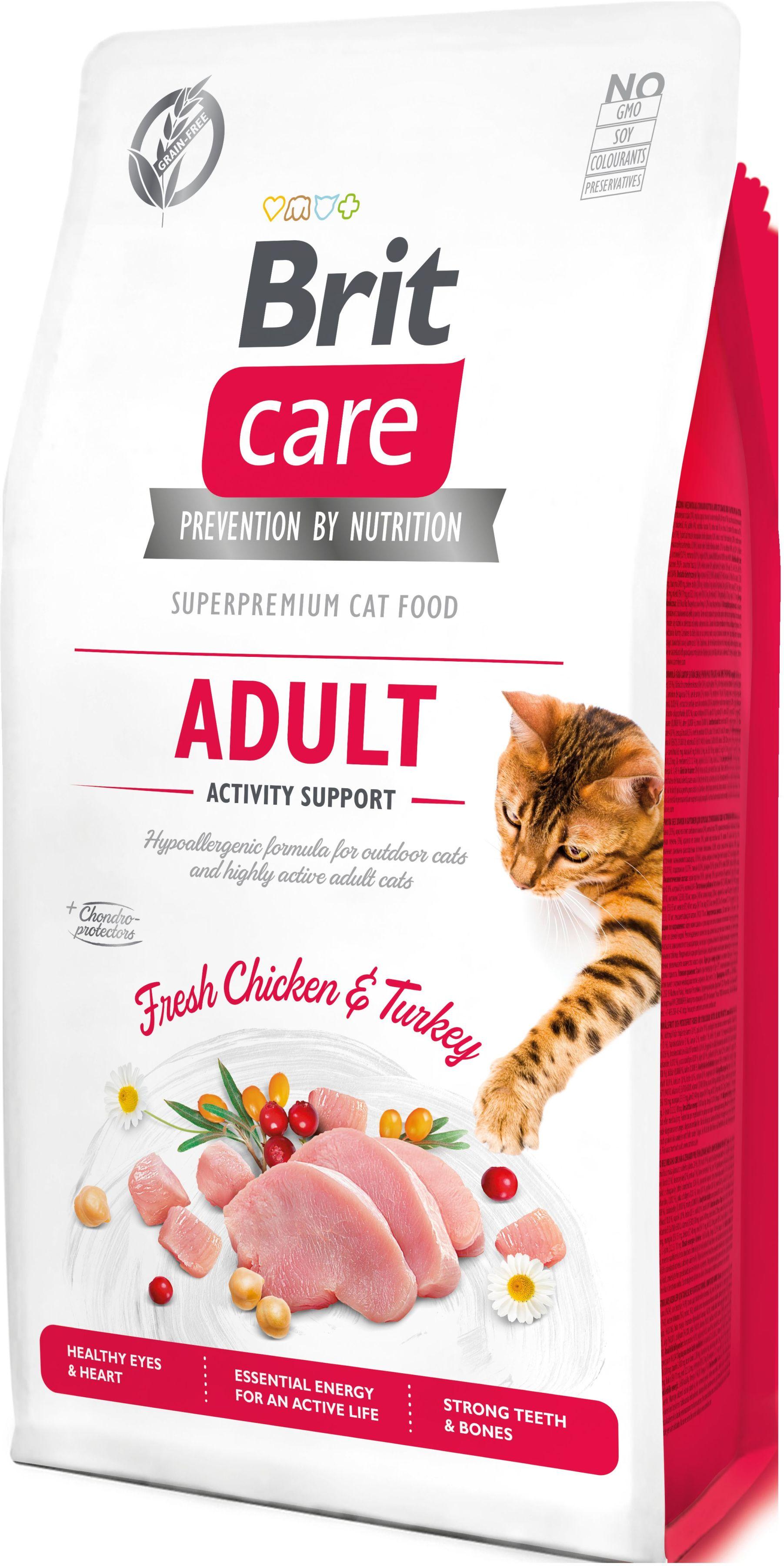 BRIT CARE cat GF ADULT ACTIVITY support