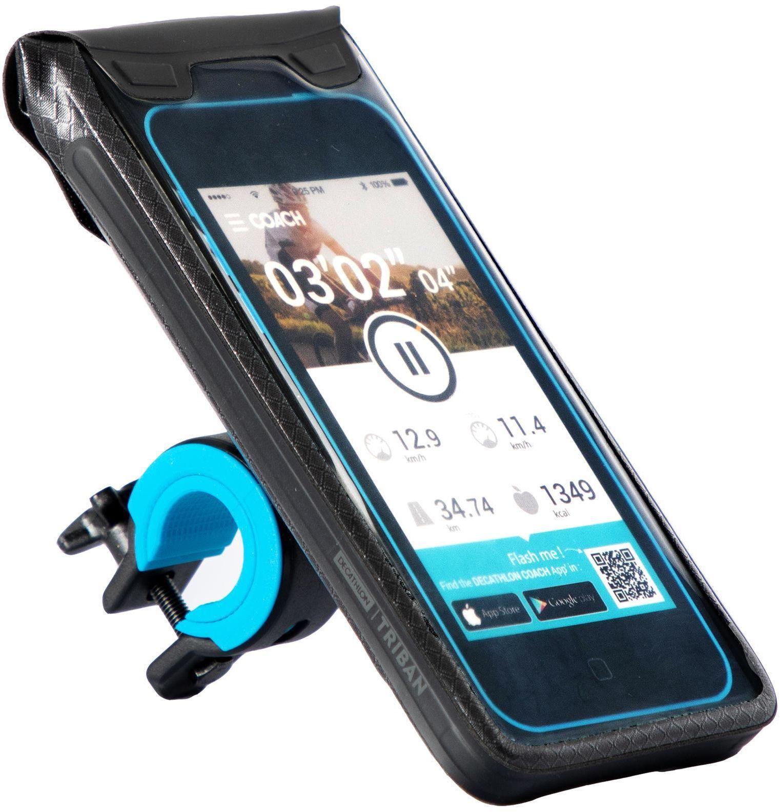 Uchwyt rowerowy do smartfona 900 L szczelny